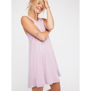Free People beach ribbed swing dress